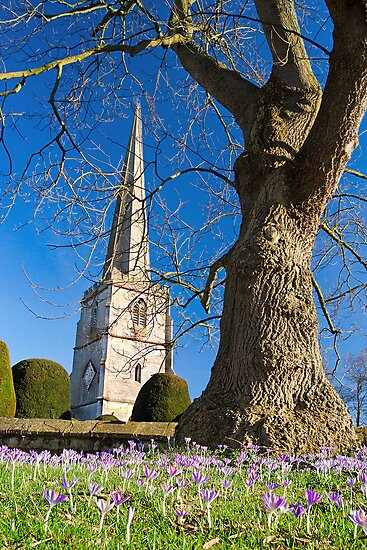 Painswick Church, The Cotswolds, England by Giles Clare