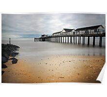 Southwold Pier (long exposure) Poster