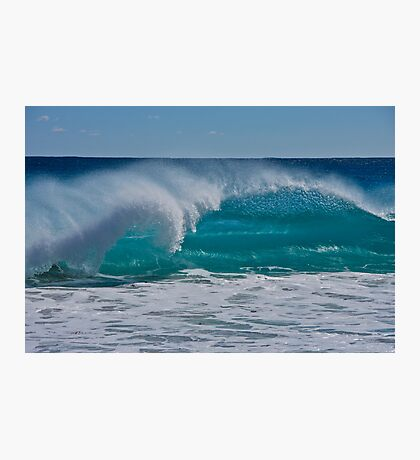 Blue Ocean and Spray Photographic Print