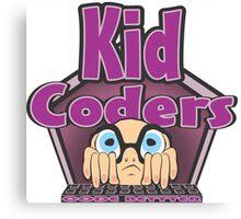 Kid Coders Code Better  Canvas Print