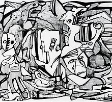 Comic Book Tales by Maya Hiort Petersen