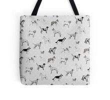 Dogs & Polka Dots Tote Bag