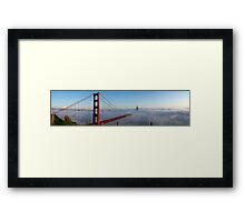 Golden Gate Bridge — Colour Framed Print