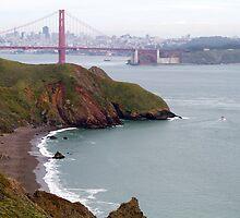 Golden Gate Bridge & Bay by Alex Eckermann
