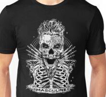MASCULINE MAN BLACK Unisex T-Shirt