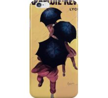 Leonetto Cappiello Affiche Parapluies Revel iPhone Case/Skin