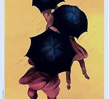 Leonetto Cappiello Affiche Parapluies Revel by wetdryvac