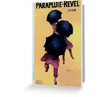 Leonetto Cappiello Affiche Parapluies Revel Greeting Card