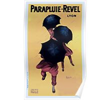 Leonetto Cappiello Affiche Parapluies Revel Poster