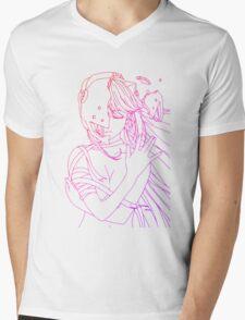 elfen lied lucy lineart coloring anime manga shirt Mens V-Neck T-Shirt