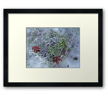 Ice Obsession In A Northern Town Framed Print