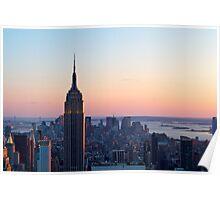 Empire State Building — Landscape Poster