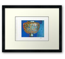 """Mineral art """"Underwater Dreams"""" graces the DVD cover. Framed Print"""