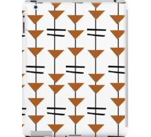 Retro Geometric Print iPad Case/Skin
