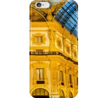 Vittorio Emanuele Shopping Gallery in Milan, ITALY iPhone Case/Skin