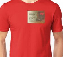 Serenity Prayer Rose and Door Unisex T-Shirt