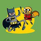 Batfinn and Robjake by MichielvB