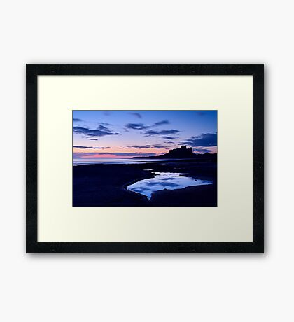 Bamburgh Castle - Pre Dawn Framed Print