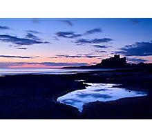 Bamburgh Castle - Pre Dawn Photographic Print