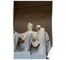 Abraham Lincoln Memorial Poster