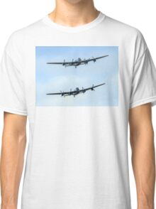 2 Lancasters in Formation Classic T-Shirt