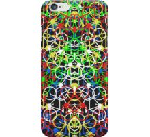 Lotsa Bikes - Multi Colour iPhone Case/Skin