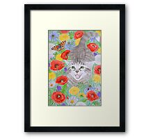 Hey, this is fun! Framed Print