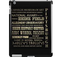 Pittsburgh Pennsylvania Famous Landmarks iPad Case/Skin