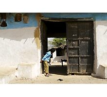 the doorway to the world within Photographic Print