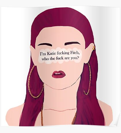 Skins UK - Katie fucking Fitch Poster
