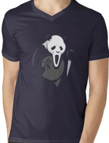 Panda Killer Mens V-Neck T-Shirt