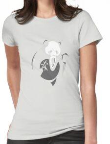 Panda Killer Womens Fitted T-Shirt