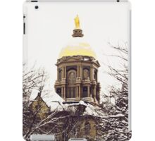 Notre Dame - Golden Dome iPad Case/Skin