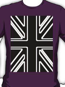 Black & White Union Flag T-Shirt