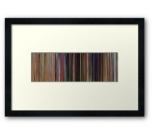 Moviebarcode: Toy Story (1995) Framed Print