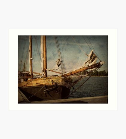 old sailor Art Print