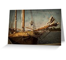 old sailor Greeting Card