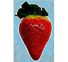Delicious strawberry Photographic Print