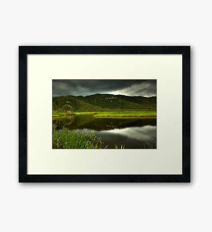Inland Lake Framed Print