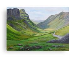 Glencoe,Scotland Canvas Print