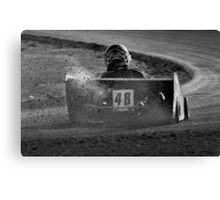 Jake at Speed Canvas Print