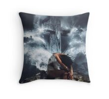 Imagine. Throw Pillow