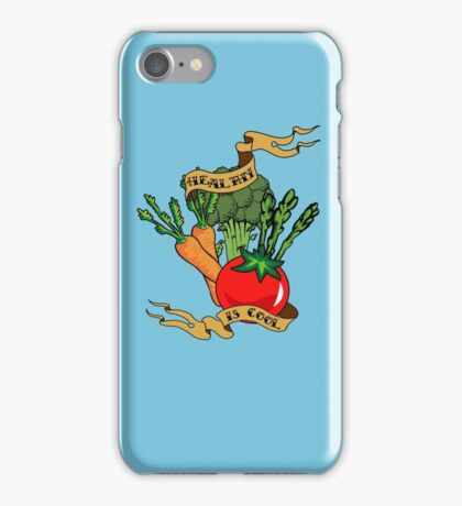 Healthy is Cool iPhone Case/Skin