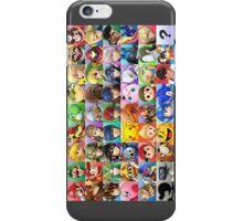 Super Smash Bros. Roster iPhone Case/Skin