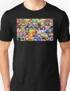 Super Smash Bros. Roster T-Shirt
