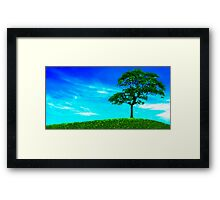 Quite High Framed Print