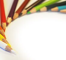 Colorful Pencils by Nasko .