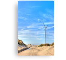Dune road Canvas Print