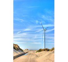 Dune road Photographic Print