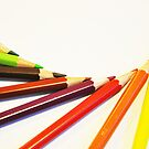 Colorful Pencils by Digital Editor .